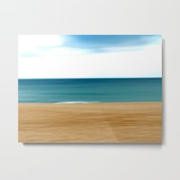 Beating the Winter Blues Metal Print