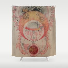 The Sun's Robin Gives Birth to a Planet Shower Curtain