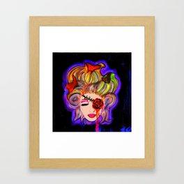 Hairwebs Framed Art Print