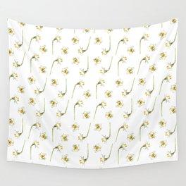 Dancing Daffodils Wall Tapestry