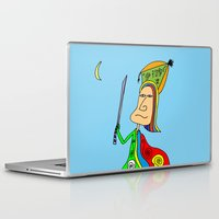 samurai Laptop & iPad Skins featuring SAMURAI by Joe Pansa