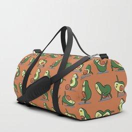 Avocado Yoga For A Flat Tummy Duffle Bag