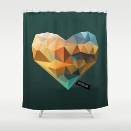 Vector Love 03 Shower Curtain