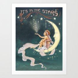 It's In The Stars – Gypsy Moon Art Print