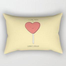 Candy Crush Rectangular Pillow