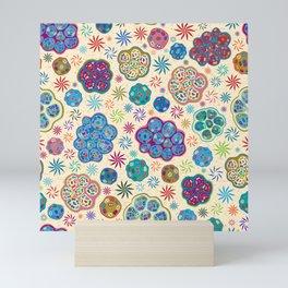 Cilia Breathe, a microscopic cross-section view Mini Art Print