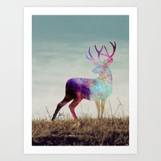 The spirit I Art Print