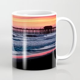 Surf City Sunsets   8/30/15   Huntington Beach California Coffee Mug