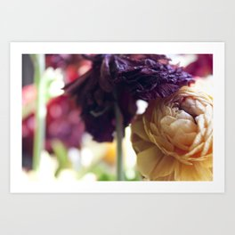 Purple Tops Art Print
