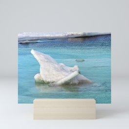 Ice Pile-Up  Mini Art Print