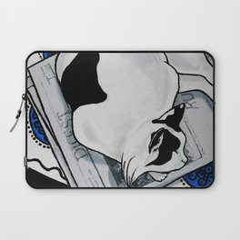 Fat Cat Napping in the Sun Laptop Sleeve