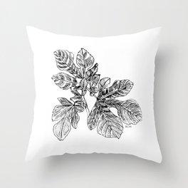 Plant Study 01 Throw Pillow