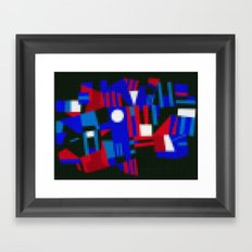 Lego: Abstract Framed Art Print