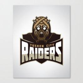 Tusken City Raiders Canvas Print