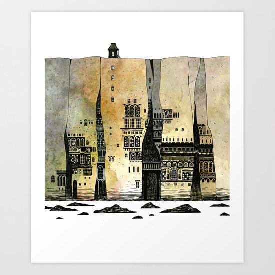 hidden place Art Print