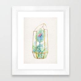 Terrarium Garden III Framed Art Print