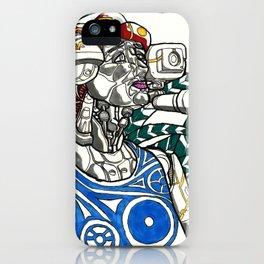 Profile Pic of Sarah Bernhardt iPhone Case