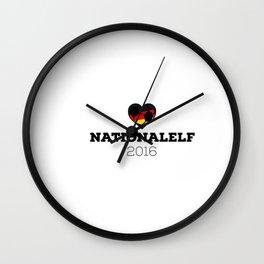 EM 2016 Nationalelf Germany Wall Clock