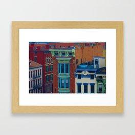 Vine Street, Over-the-Rhine Framed Art Print