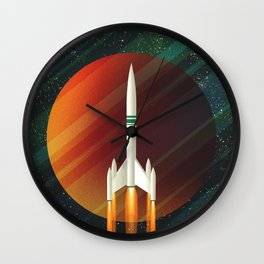 Space Wall Clock