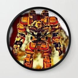 Robot Jox Wall Clock