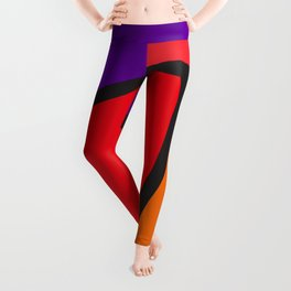 cubism tribute Leggings