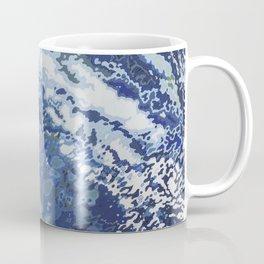 Deep Blue Ocean Wake Coffee Mug