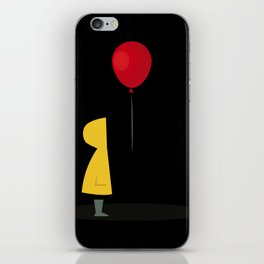 Red Balloon for 1 Penny iPhone Skin
