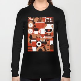 Coffee Story Long Sleeve T-shirt