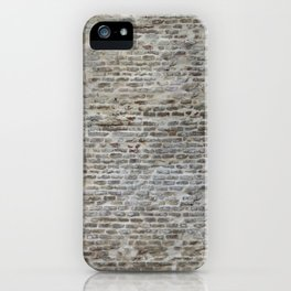 brick wall pattern and texture iPhone Case