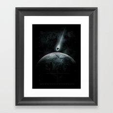 Classified Mission Framed Art Print