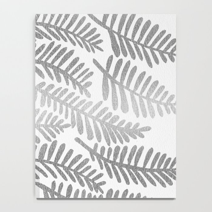 Silver Fronds Notebook