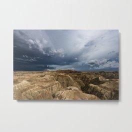 The Badlands - 04 Metal Print