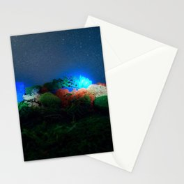 diorama light paint Stationery Cards