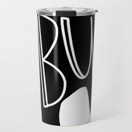 I love my Pit bull Silhouette Travel Mug