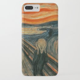 The Scream - Edvard Munch iPhone Case