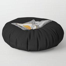 Egg Scratch Floor Pillow
