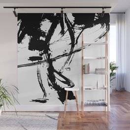 Brushstrokes No.16A by Kathy Morton Stanion Wall Mural
