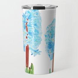 blue hyacinth Travel Mug