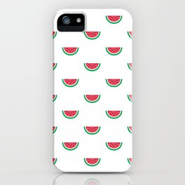 Watermelons Print iPhone Case
