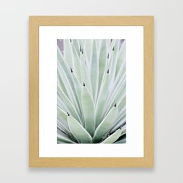 Mint Serenity Framed Art Print