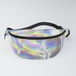 Magical Holographic Foil Textures Fanny Pack