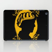 221b iPad Cases featuring The Golden Boy from 221B by Suuki