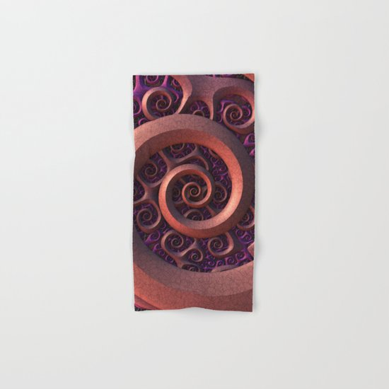 Spiral Mania Hand & Bath Towel