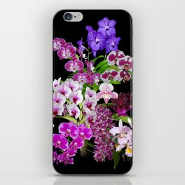 Orchids - Cool colors! iPhone Skin