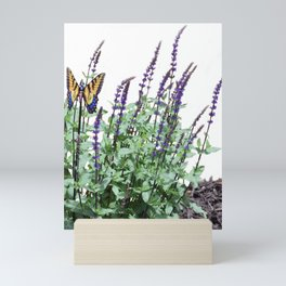 Flowers in the garden Mini Art Print