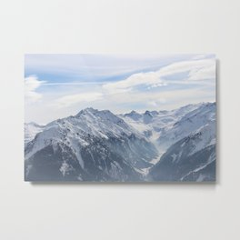 Wunderfull Snow Mountain(s) 2 Metal Print