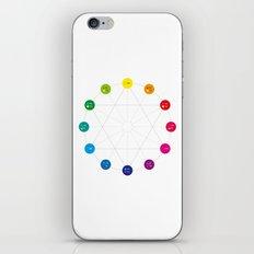 Simple Color Wheel iPhone Skin