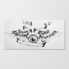 Eye Fly Canvas Print