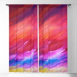 Vibrant Sunset Blackout Curtain